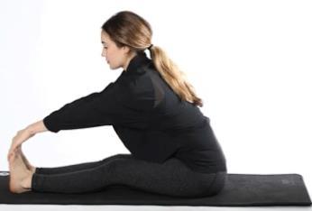 کشش عضلات پشت پا